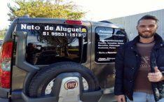Neto de Aluguel profissional leva idosos para passeios e consultas médicas