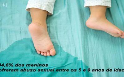 ABUSO SEXUAL DE HOMENS um crime que começa na infância