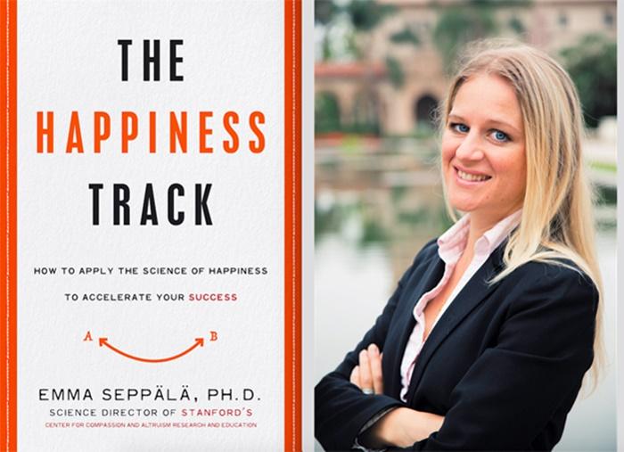 """""""A Trilha da Felicidade Como aplicar a ciência da felicidade a fim de acelerar o sucesso"""" – Emma Seppälä psicologia positiva"""
