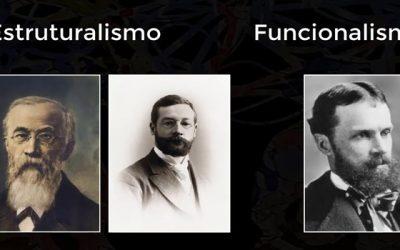 Estruturalismo e Funcionalismo A história da psicologia