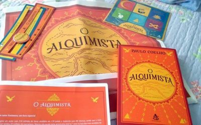 LIVRO O ALQUIMISTA- PAULO COELHO