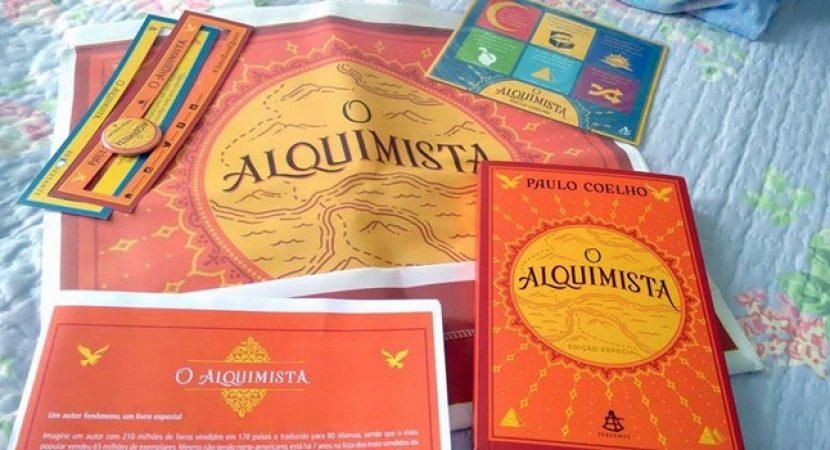 LIVRO: O ALQUIMISTA- PAULO COELHO