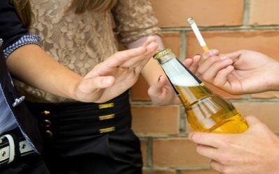 Combater drogas e alcoolismo