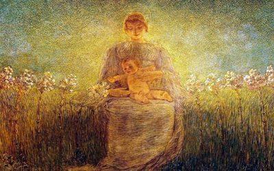 As crianças e a Mãe de Jesus espiritualidade