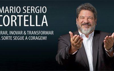 Mario Sergio Cortella Palestra em Franca 19 novembro 2018 Superar, Inovar e Transformar A Sorte segue a Coragem