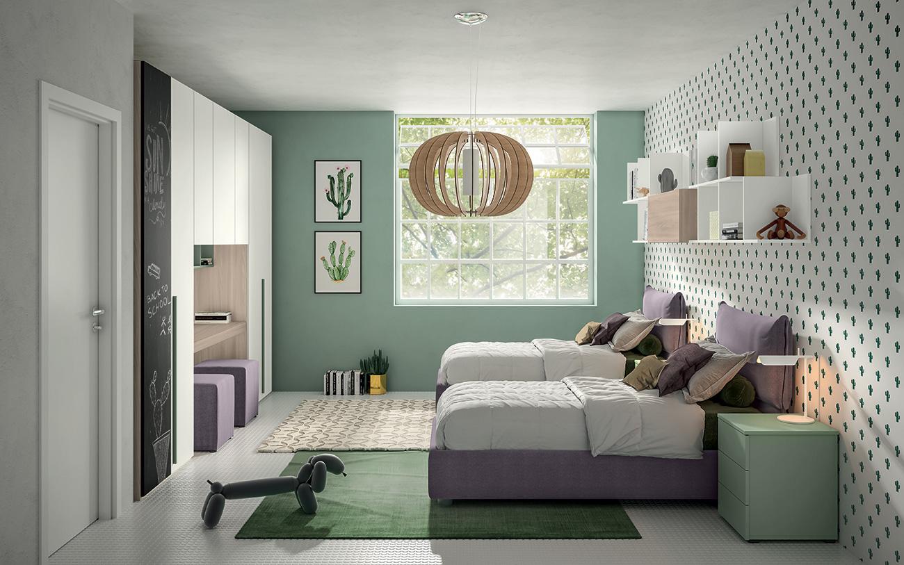 Il letto a ponte golf pensato per le camerette moderne dei. Camerette Salvaspazio Come Combinare Design E Praticita
