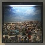ILUSIÓN URBANA 2011. Collage tridimensional de fotografías. Caja de luz 100 cm x 100 cm x 25 cm