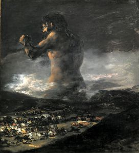Le Colosse - Goya