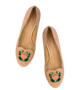 Ballerines Charlotte Olympia Cancer