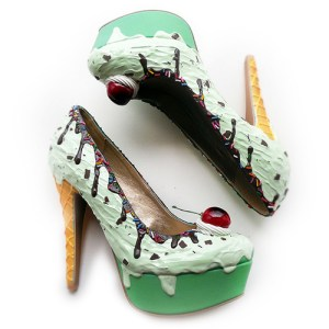 Escarpins Mint Ice Cream de The Shoe Bakery