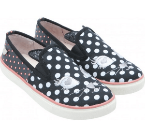 Slip-on chats Lollipops, noires