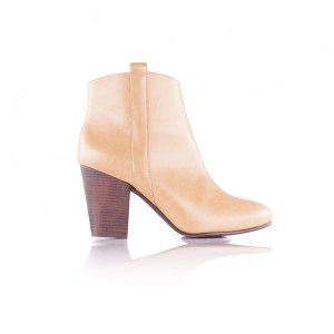 Bottines Daydream Beige par By Blanch