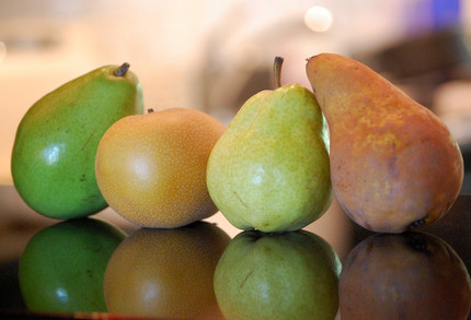 Four_types_of_pears