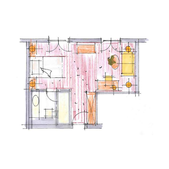 Raumaufteilung_Einzelzimmer
