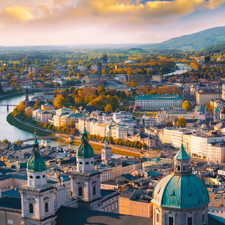 Salzburg Stadtpanorama