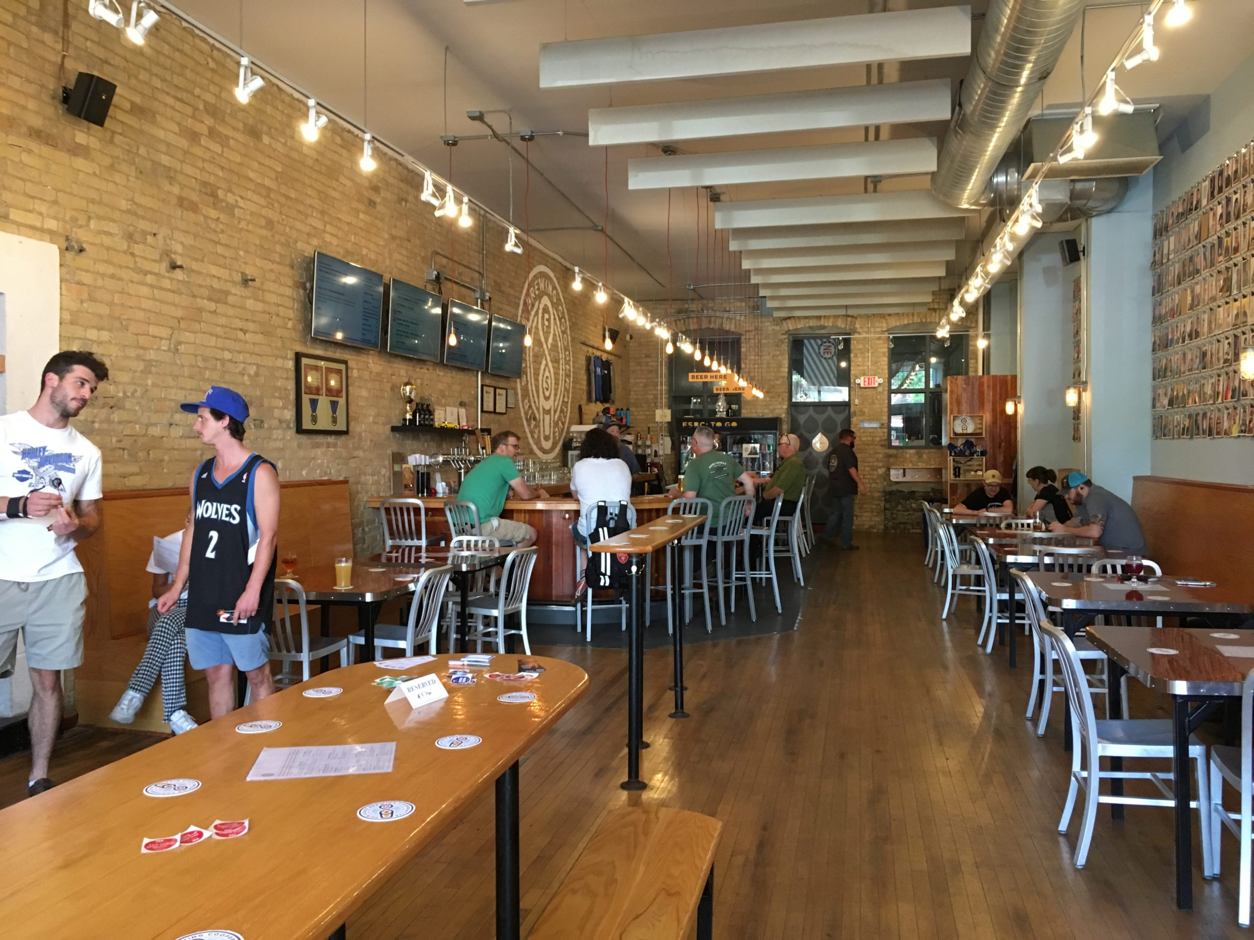 The Fair State Brewing Cooperative taproom