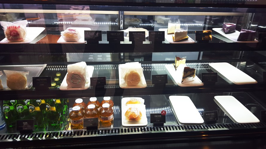 Pastry selection at Cafe Dudart with AOMG