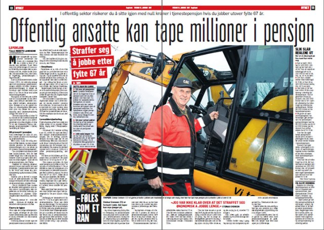 Dagbladet 13. januar 2017