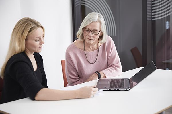 En fra Statens pensjonskasse forteller et eldre medlem om individuell garanti