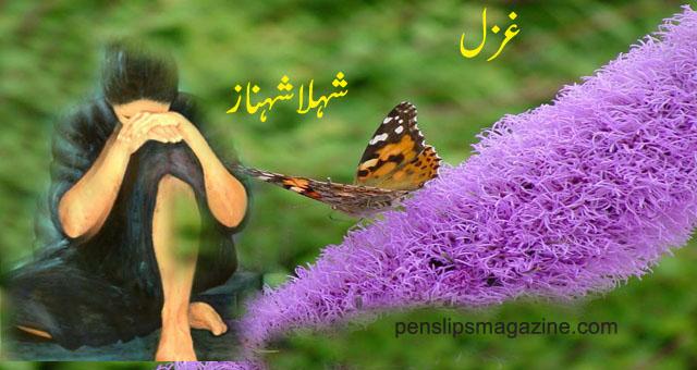 shehla-shahnaz-poetry-kisi-titli-ki