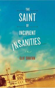 The Saint of Incipient Insanities book cover - best Elif Shafak Book