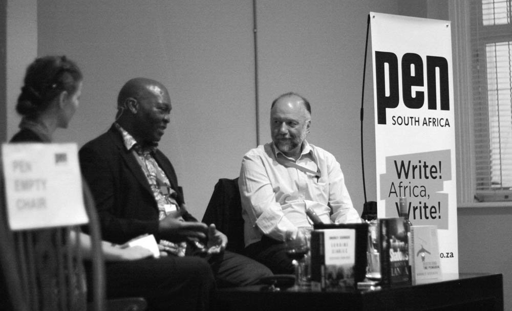 PEN Dialogue: Lives of Writers with Mandla Langa and Andrey Kurkov