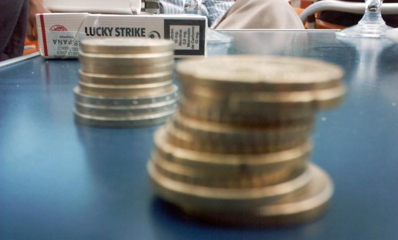 כסף על השולחן