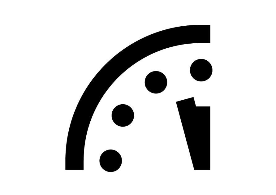 Doomsday Cllipart Clock