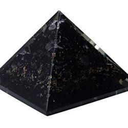 Пирамида из черного турмалина (малая)