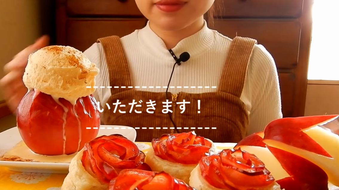 たべる ハナメ つくる つくるたべるハナメさんの信玄餅風のおもちを食べる動画でコメント欄