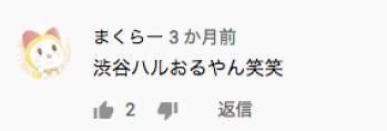 渋谷 ハル 年齢