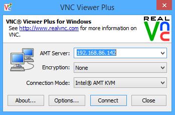 VNC Viewer Plus Configuration