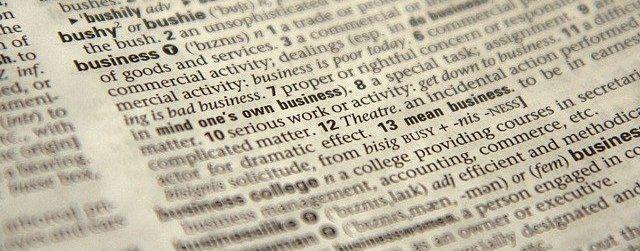 Válság szótár