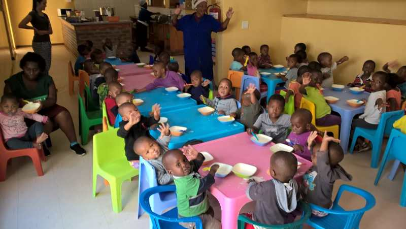 Mthatha District supports orphans with food supplies every month