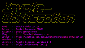 Invoke-Obfuscation: A PowerShell Command & Script Obfuscator!