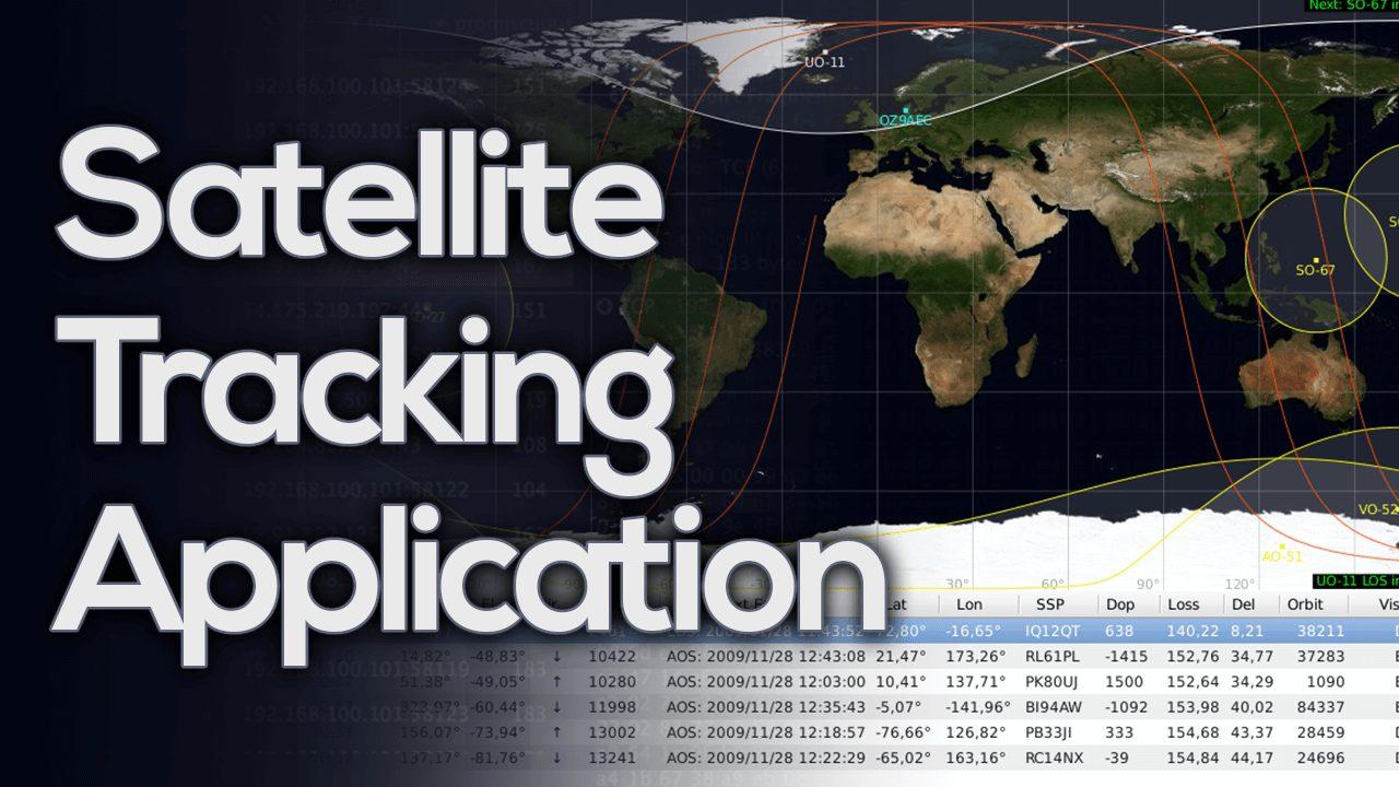 GPredict - Satellite Tracking Application - Kali Linux