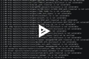 RouterSploit v3.4.0 - Exploitation Framework For Embedded Devices