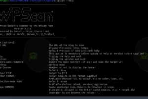 WPScan v3.3.1 - Black Box WordPress Vulnerability Scanner