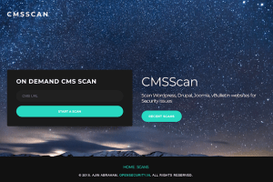 CMS Scanner - Scan Wordpress, Drupal, Joomla, vBulletin Websites For Security Issues