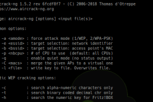 Aircrack-ng 1.5 - Complete Suite Of Tools To Assess WiFi Network Security