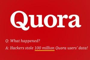 data breach quora website hacked