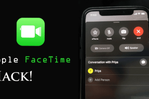 apple facetime hack
