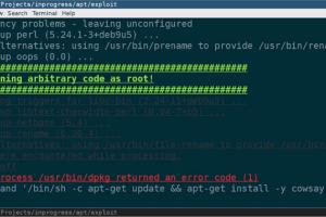 linux apt https hacking