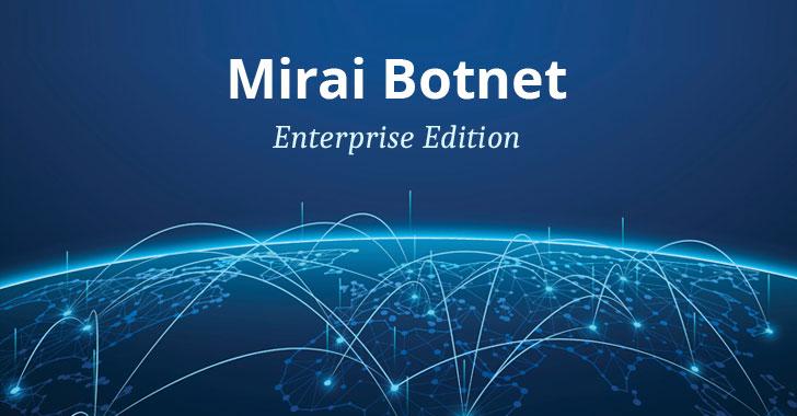 mirai botnet enterprise security