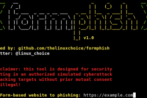 Formphish - Auto Phishing Form-Based Websites