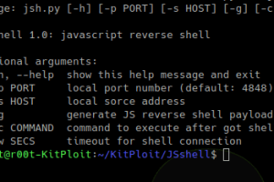 JSshell - A JavaScript Reverse Shell For Exploiting XSS Remotely Or Finding Blind XSS, Working With Both Unix And Windows OS