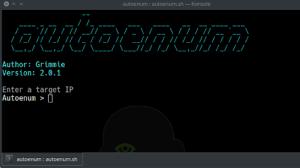 Autoenum - Automatic Service Enumeration Script