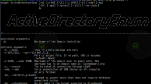 ActiveDirectoryEnumeration - Enumerate AD Through LDAP With A Collection Of Helpfull Scripts Being Bundled