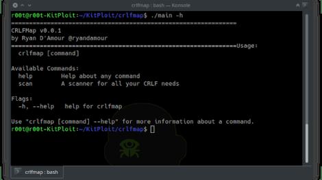 CRLFMap -  A Tool To Find HTTP Splitting Vulnerabilities